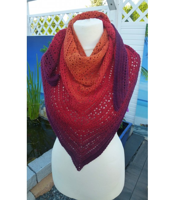 Herbstsonate (Autumn Sonata) - 4 ply gradient yarn - image 5