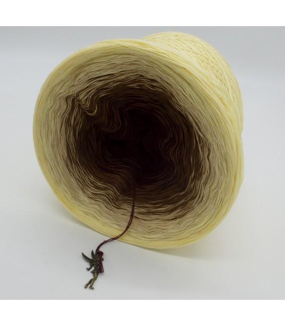 gradient yarn 4ply Loreley - Vanilla outside 4