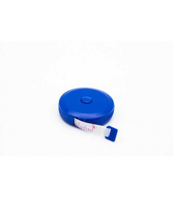 Round measuring tape up to 150 cm / 60 inches - retractable - image 3