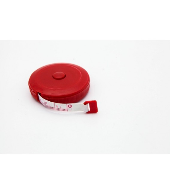 Round measuring tape up to 150 cm / 60 inches - retractable - image 5