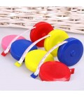 Round measuring tape up to 150 cm / 60 inches - retractable