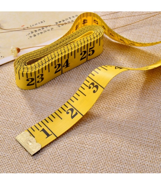 Tailoring tape measure 150 cm - 60 inches - image 5
