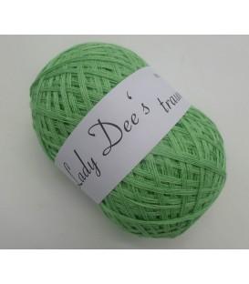 Lady Dee's Lacegarn - Gurke - 1 Farbe - Lagerfarbe - Bild 1
