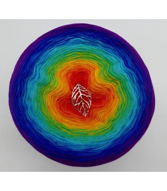 Kinder des Regenbogen - Farbverlaufsgarn 4-fädig - Bild 2