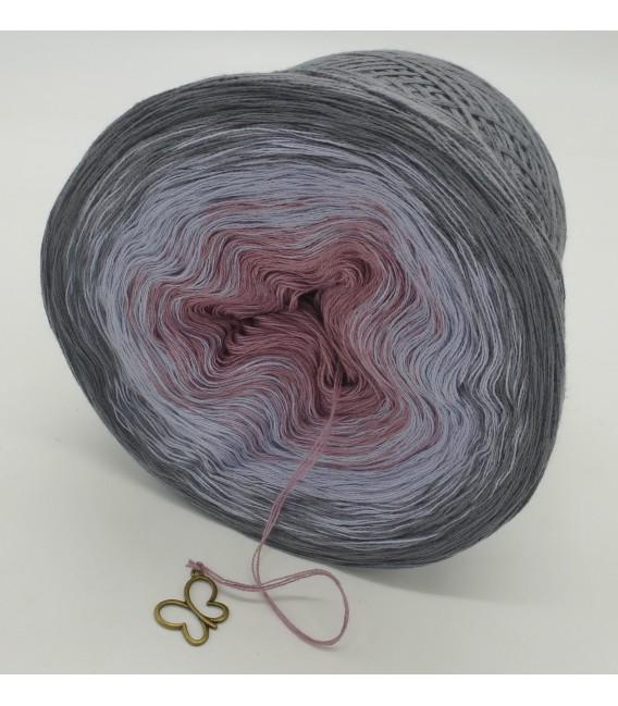 Indian Rose - 4 ply gradient yarn - image 5