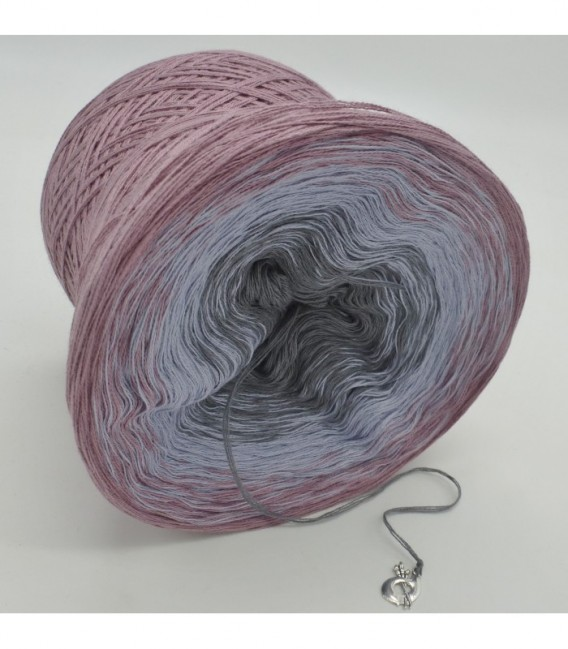 Indian Rose - 4 ply gradient yarn - image 8