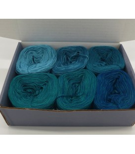 Merino Bobbelbox MB006 with 6 small and 4-ply Bobbel - image 1