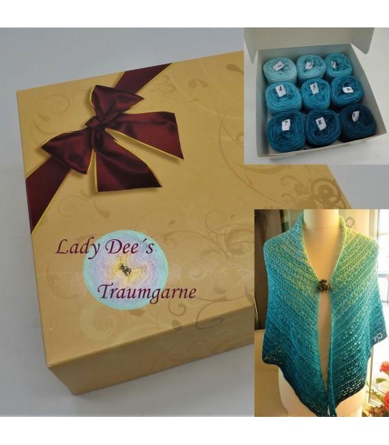 Bobbel package - Romanze am Meer - gradient yarn - image 3