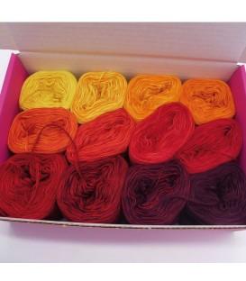 treasure chest - Feuerland - gradient yarn