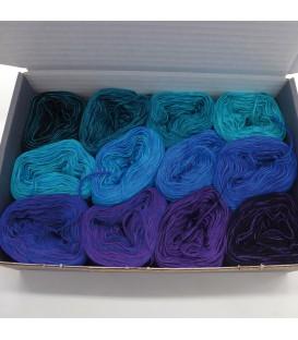 treasure chest - Land der 1000 Seen - gradient yarn