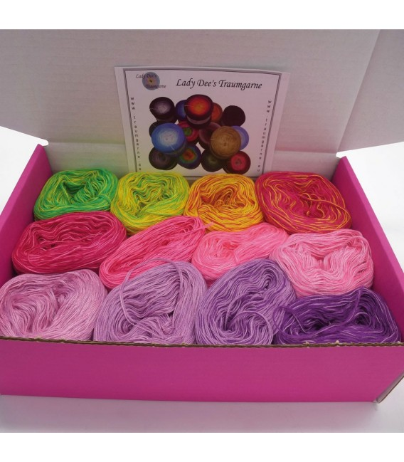 treasure chest - Land der Schmetterlinge - gradient yarn - image 2