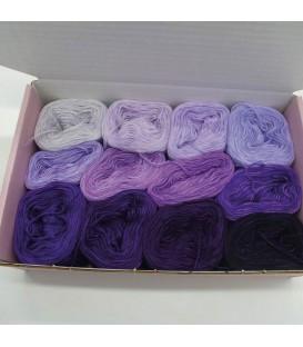 treasure chest - Lilaland - gradient yarn - image 1