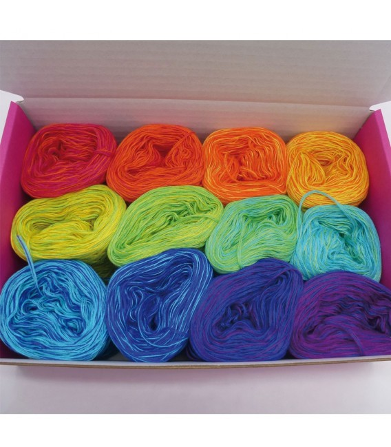 treasure chest - Chakra - gradient yarn - image 1