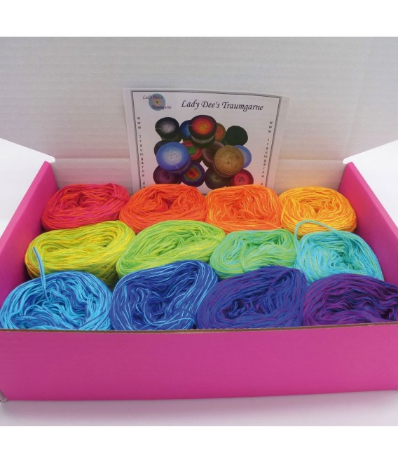 treasure chest - Chakra - gradient yarn - image 2