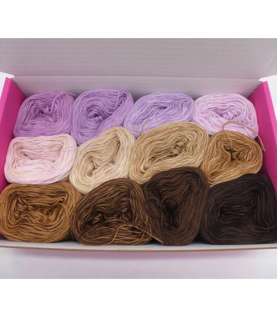 treasure chest - Gelobtes Land - gradient yarn - image 1