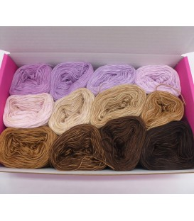 treasure chest - Gelobtes Land - gradient yarn - image 1