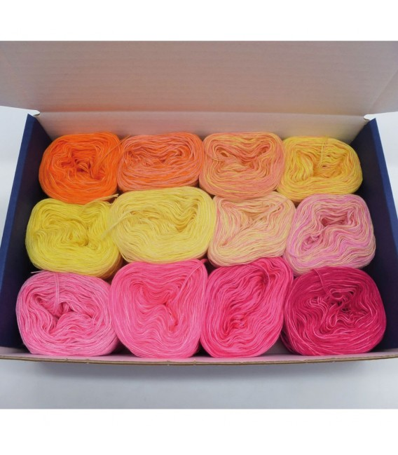 treasure chest - Land der aufgehenden Sonne - gradient yarn - image 1