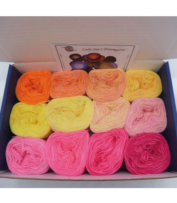 treasure chest - Land der aufgehenden Sonne - gradient yarn - image 2