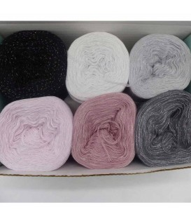 Sternschnuppen Box - yarn without gradient 4-ply - image 1