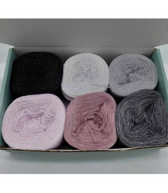 Sternschnuppen Box - yarn without gradient 4-ply - image 4