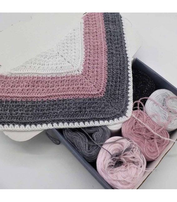 Sternschnuppen Box - yarn without gradient 4-ply - image 7