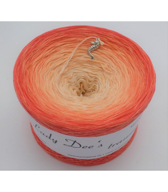 Zuckermelone (musk melon) - 4 ply gradient yarn - image 4