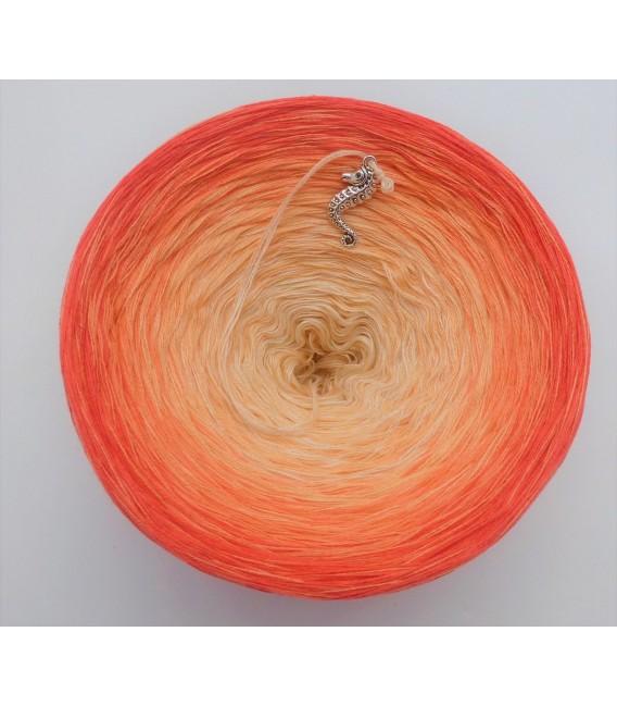 Zuckermelone (musk melon) - 4 ply gradient yarn - image 5