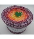 Schneefeuer - 4 ply gradient yarn