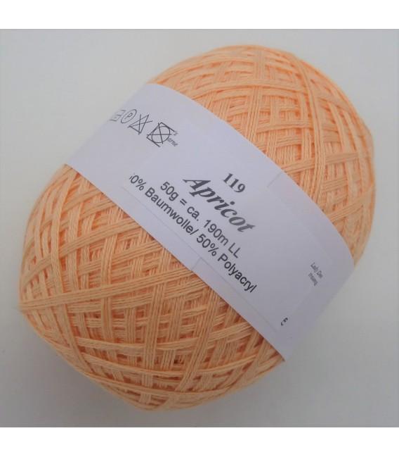Lady Dee's Lace Garn - Apricot - Bild 1