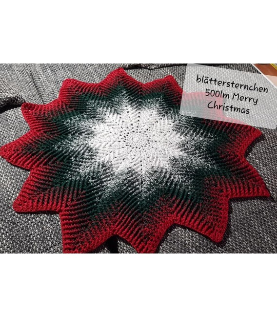 Merry Christmas - 3 ply gradient yarn - image 7