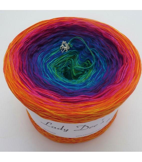 Paradiesvogel (Bird of paradise) - 4 ply gradient yarn - image 4