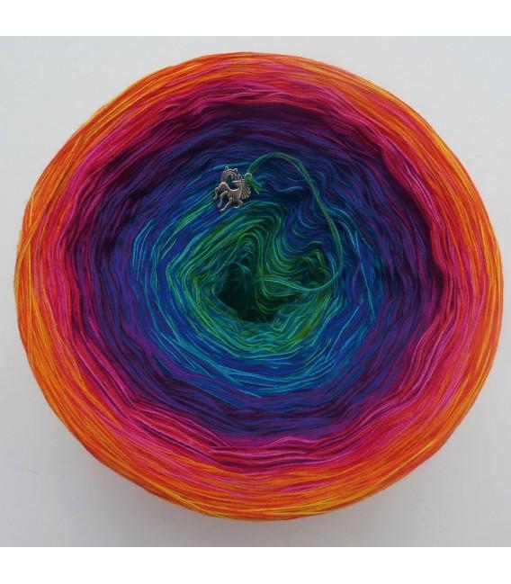 Paradiesvogel (Bird of paradise) - 4 ply gradient yarn - image 5