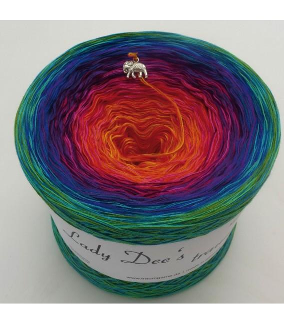 Paradiesvogel (Bird of paradise) - 4 ply gradient yarn - image 2