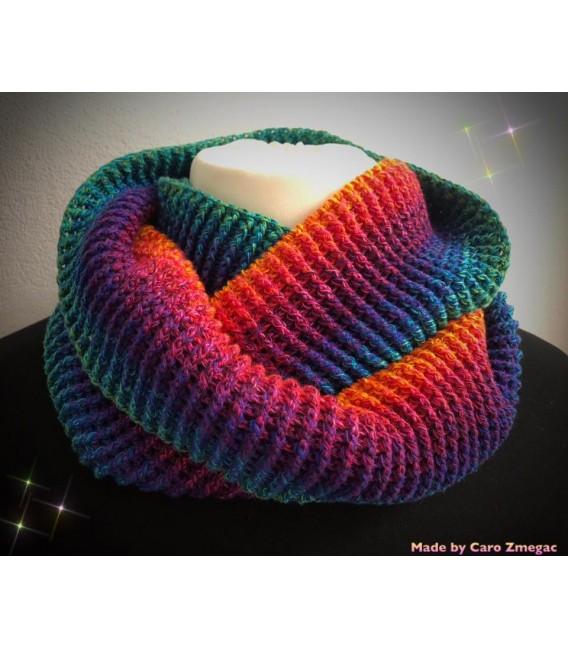 Paradiesvogel (Bird of paradise) - 4 ply gradient yarn - image 6