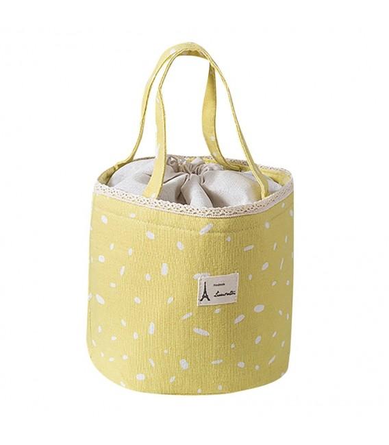 Utensilo - Bobbel bag retro round with drawstring - speckled - image 2