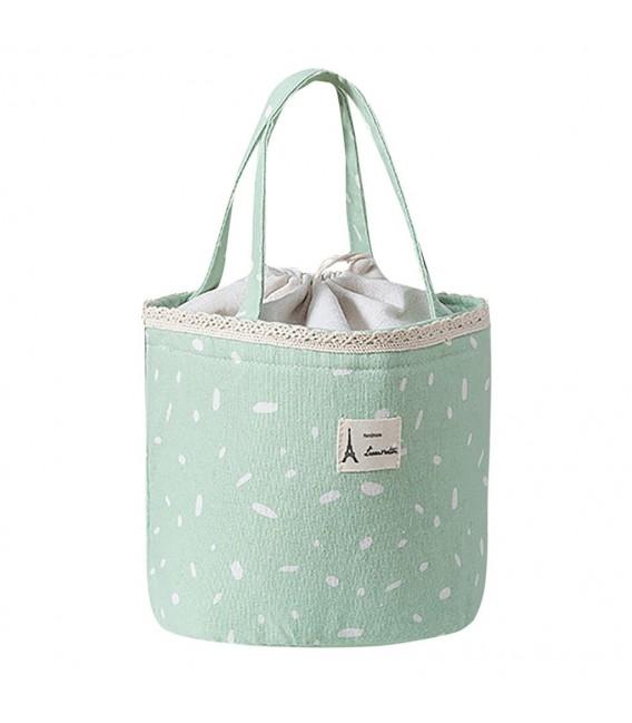 Utensilo - Bobbel bag retro round with drawstring - speckled - image 3