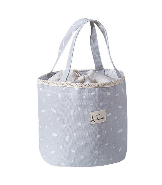 Utensilo - Bobbel bag retro round with drawstring - speckled - image 4