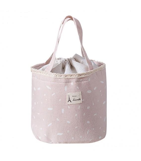 Utensilo - Bobbel bag retro round with drawstring - speckled - image 5