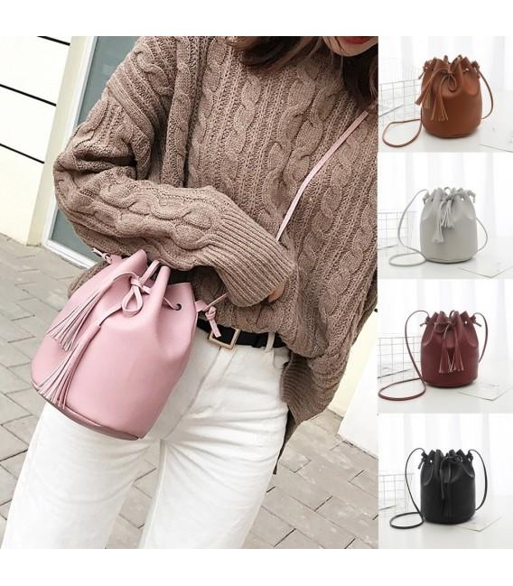 Utensilo - round Bobbel bag - shoulder bag - imitation leather - image 7
