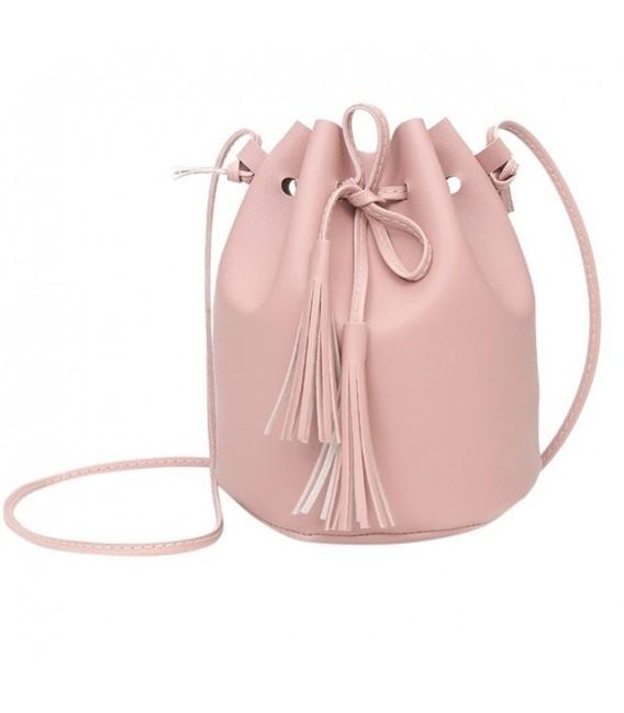 Utensilo - round Bobbel bag - shoulder bag - imitation leather - image 2