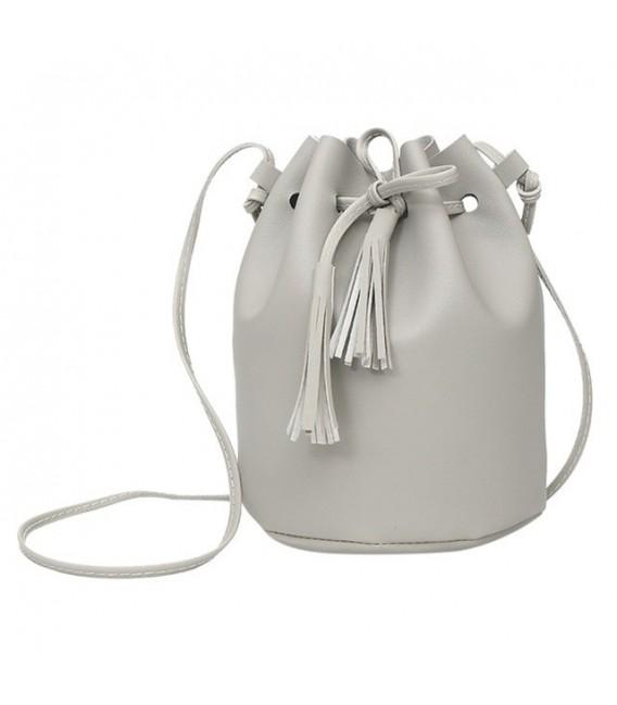 Utensilo - round Bobbel bag - shoulder bag - imitation leather - image 4