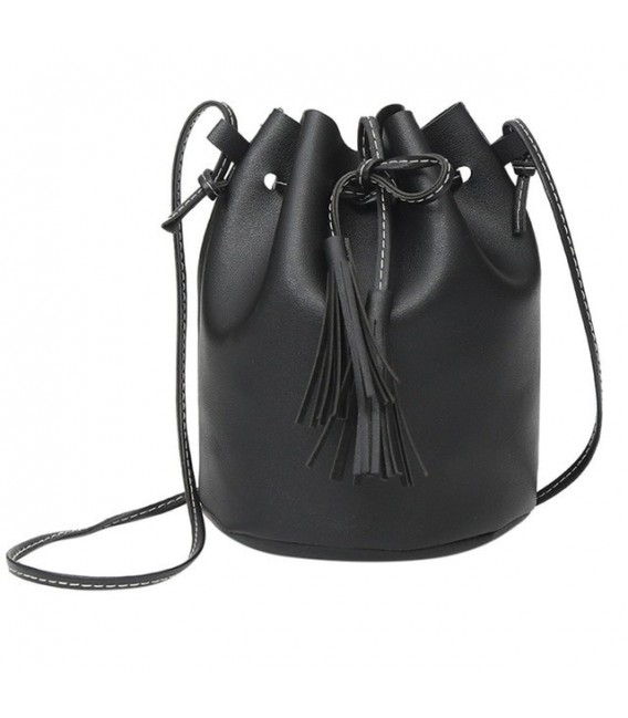 Utensilo - round Bobbel bag - shoulder bag - imitation leather - image 6