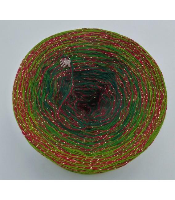 Weihnachtsbaum - Farbverlaufsgarn 4-fädig - Bild 3