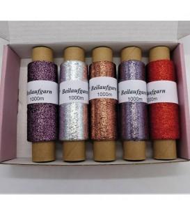 Auxiliary yarn - Lurex Tasting box
