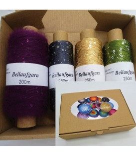 Auxiliary yarn - yarn sequins Tasting box