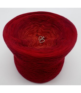 gradient yarn Flammen der Liebe - Burgundy outside