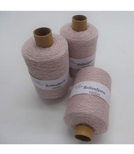Fil scintillant - fil de paillettes Flieder-Silber - pack