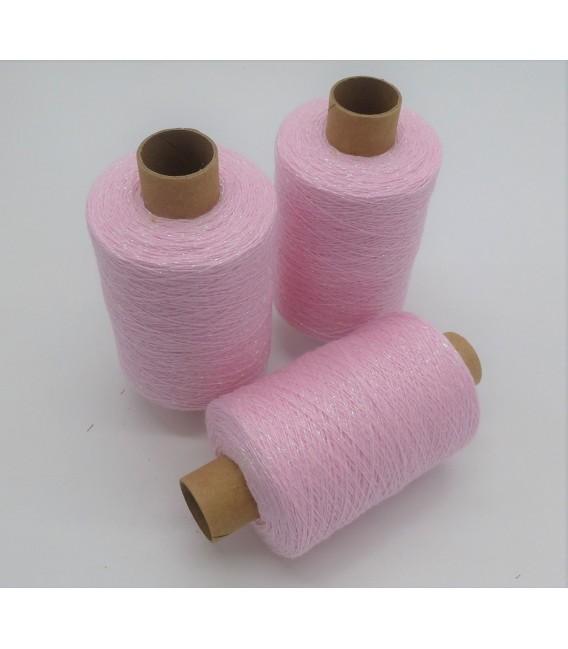 Fil scintillant - fil de paillettes Babyrosa-Perlmutt iriseé - pack