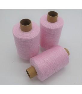 Glitter yarn - glitter thread Babyrosa-Perlmutt iriseé - pack