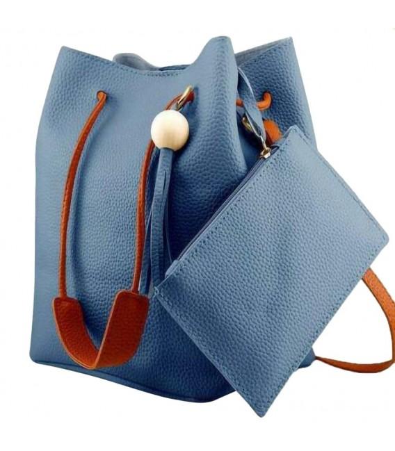 Utensilo - Bobbel bag - shoulder bag - imitation leather - image 2